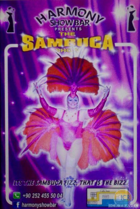 Harmony Show Bar Miss Sambuca Icmeler Hotels